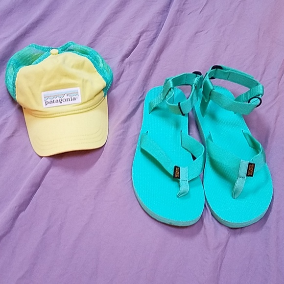 fa92f8353bb6 Teva shoes teal sandals poshmark jpg 580x580 Teal teva sandals